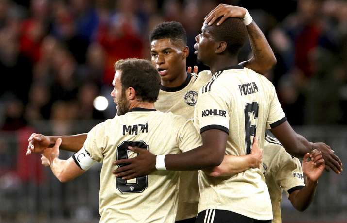 Manchester United cruise to 4-0 victory over Leeds United on preseason tour