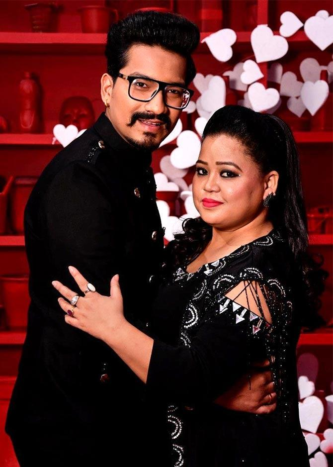 India Tv - Bharti Singh and Haarsh Limbachiyaa