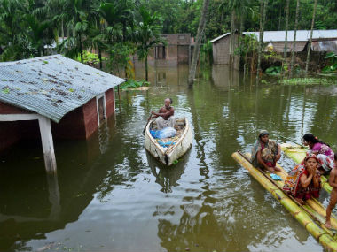 The floods in Assam have caused havoc in the state