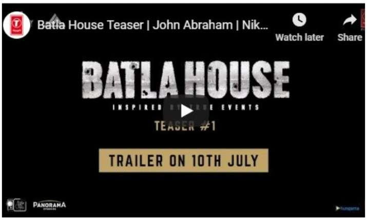 Batla House Teaser: John Abram's film on 2008 true events will leave you stunned