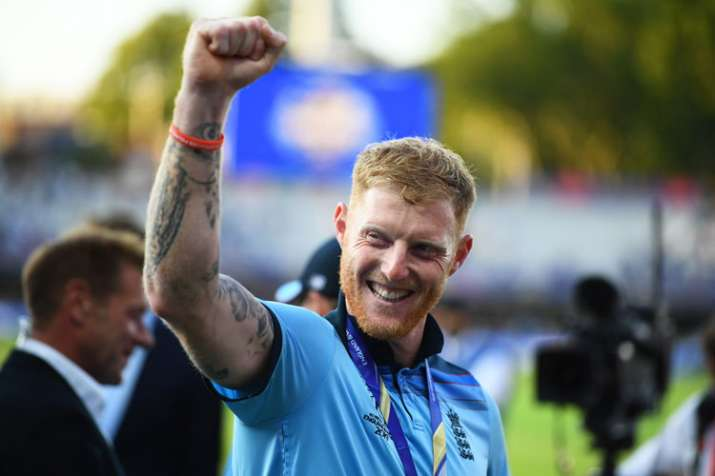 India Tv - Ben Stokes starred in the World Cup final for England