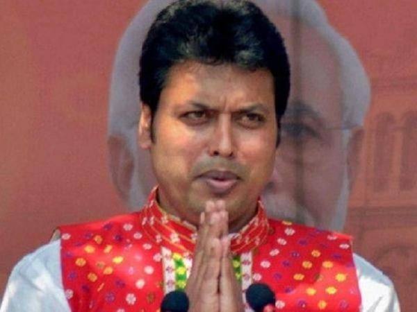 After BJP workers' demand for his removal, Biplab Deb to ask people if he should remain CM