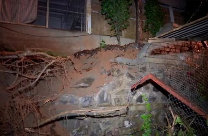 Six-month-old boy survives Malad wall collapse and flood