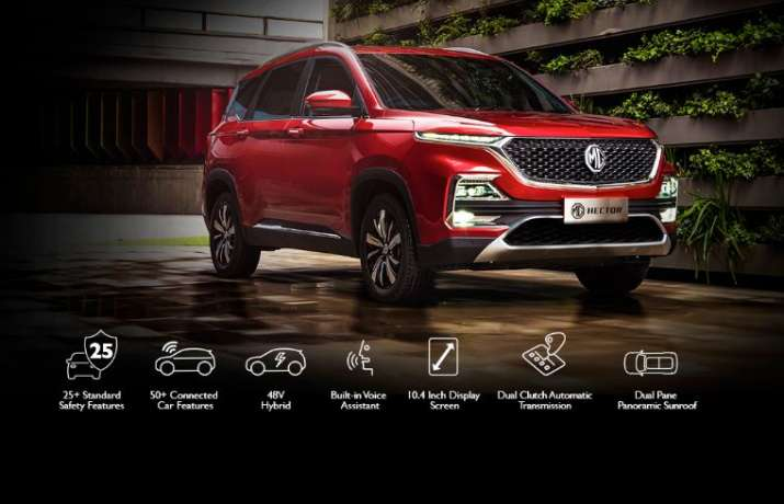 MG Hector bookings temporarily closed due to high initial