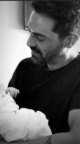 India Tv - Arjun Rampal's girlfriend Gabriella Demetriades shares candid moment of newborn baby boy