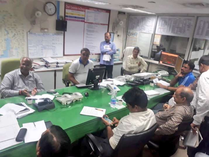 India Tv - Central Railway officials monitoring and supervising the situation