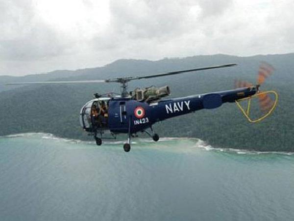 Chetak helicopter