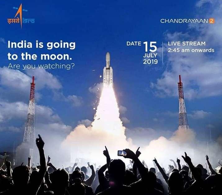 ISRO chandrayaan 2 launch Time: Chandrayaan 2 Launch Live Streaming, when will chandrayaan 2 be laun