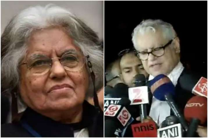 Indira Jaising and Anand Grover
