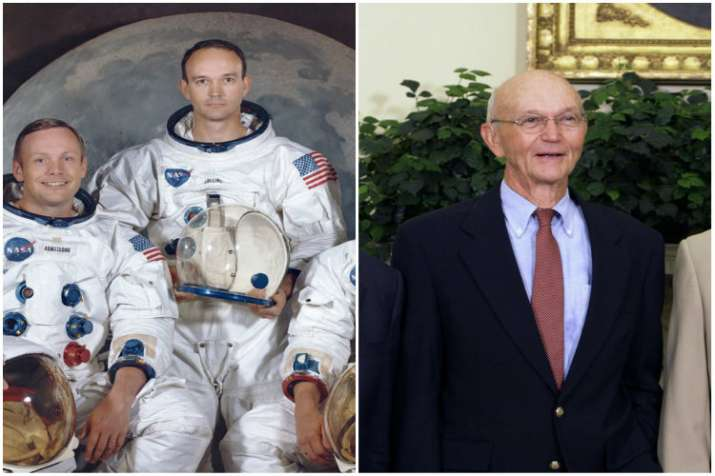Apollo 11 astronaut Michael Collins returned to exact spot