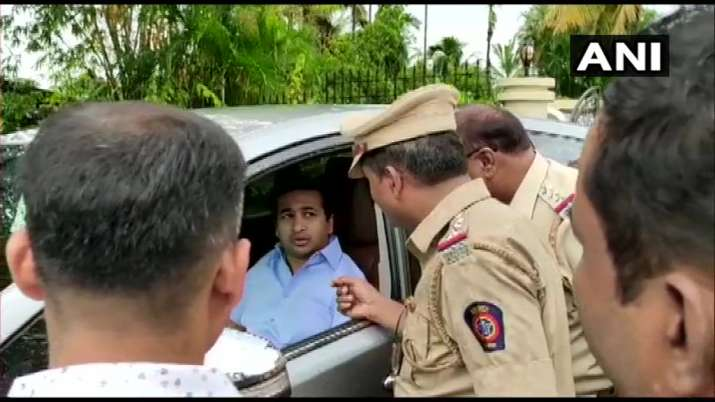 Breaking: Congress MLA Nitesh Rane arrested