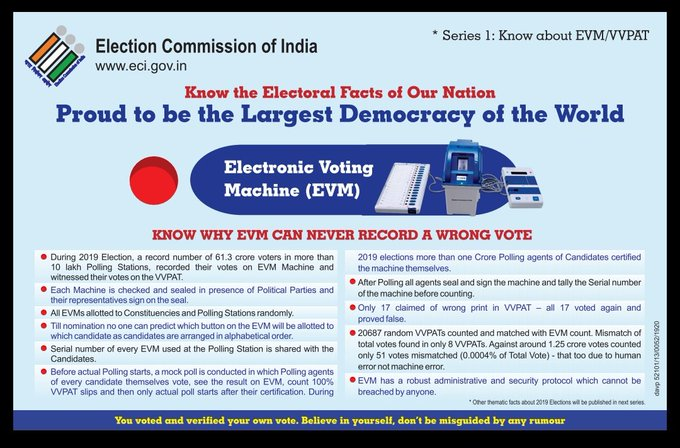 India Tv - Know why Electronic Voting Machine (EVM) can never record a wrong vote