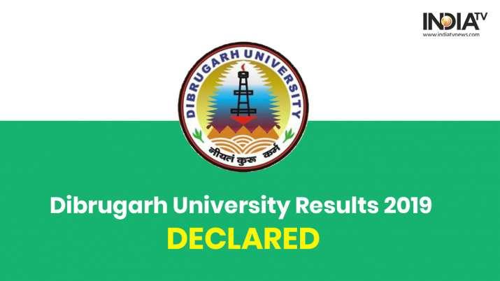 Dibrugarh University Results 2019