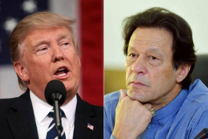 US President Donald Trump andPakistan Prime Minister