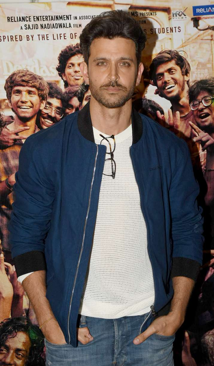 India Tv - Hrithik Roshan at Super 30 special screening