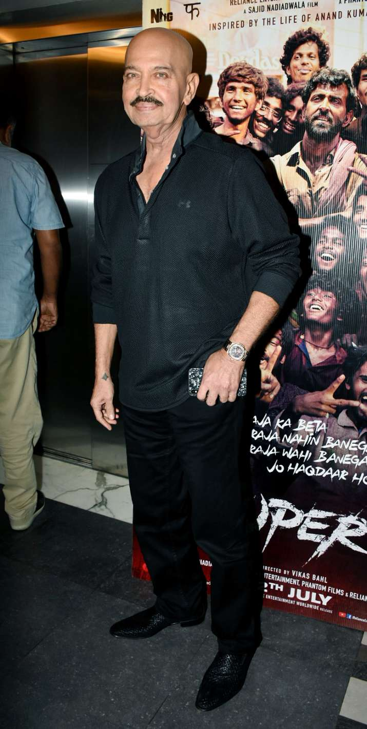 India Tv - Rakesh Roshan at Super 30 special screening