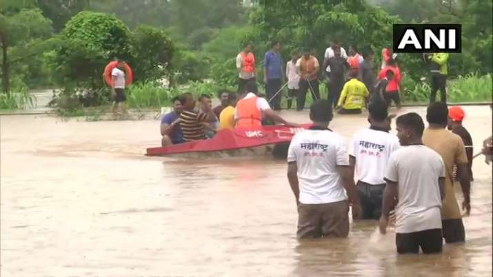 Mumbai rains: Video captures NDRF rescue operations on