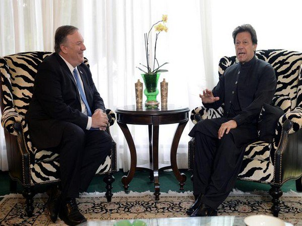 US Secretary of State Mike Pompeo meets Imran Khan discusses Pakistan's role in counterterrorism