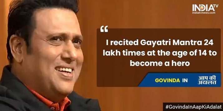 India Tv - Govinda in Aap Ki Adalat