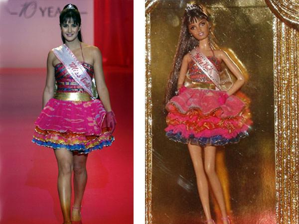 India Tv - Katrina Kaif Barbie Doll look