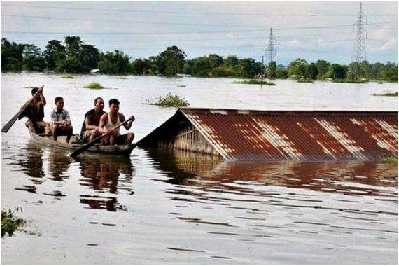 Tripura flood: 10,000 people homeless, forced to take shelter in relief camps (Representational imag