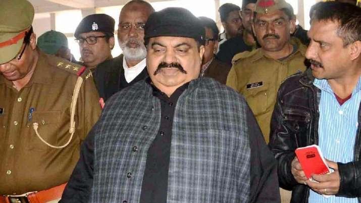 Former Samajwadi Party MPAtiq Ahmed