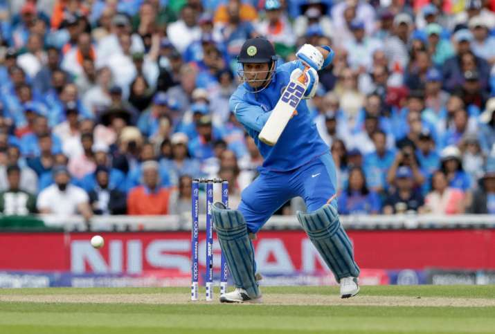 India Tv - MS Dhoni has played slowly throughout the World Cup