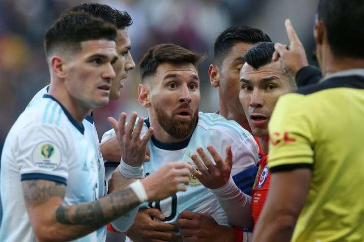 Brazil coach Tite slams Lionel Messi for insinuating Copa America rigged