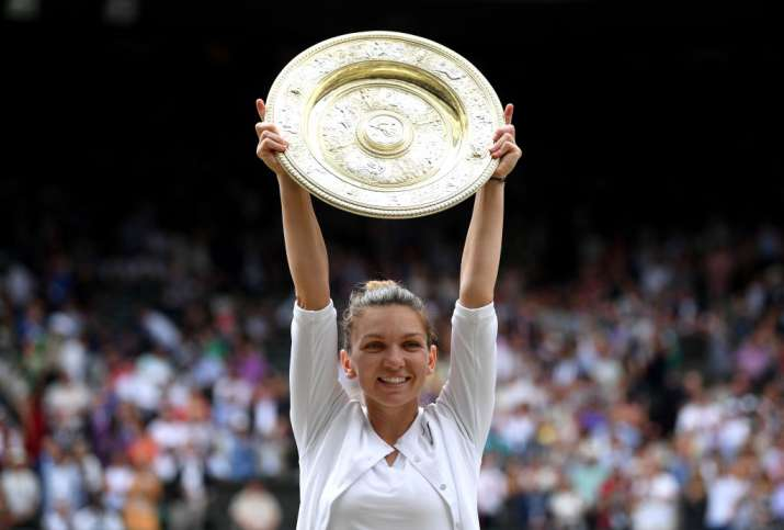 Simona Halep returns to top 5 in WTA rankings after Wimbledon win