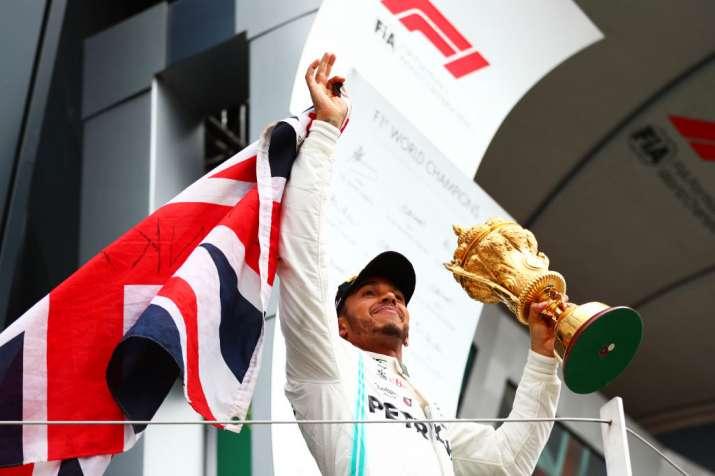 Lewis Hamilton wins record 6th British GP
