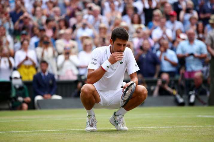 Grass tasted like never before, says Novak Djokovic after Wimbledon win over Roger Federer