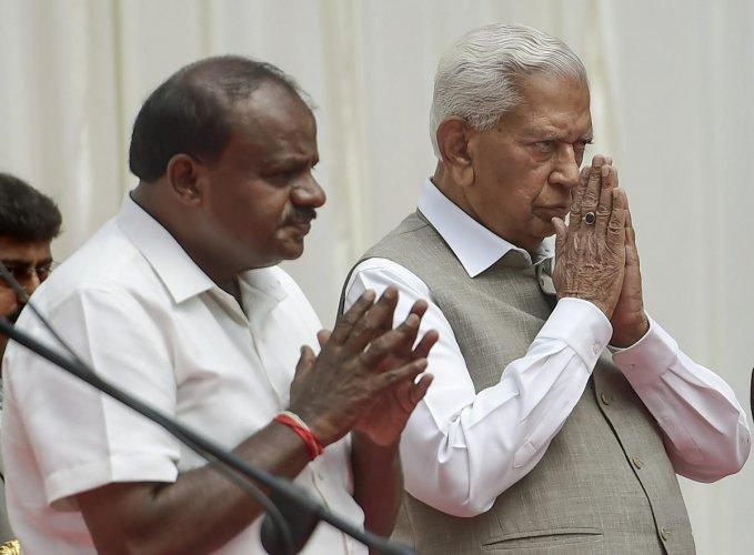 BJP to meet Karnataka Governor Vajubhai Vala and state