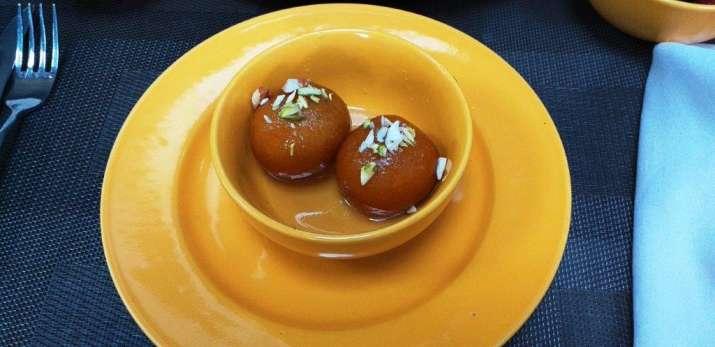 India Tv - Daastan-E-Dilli at Earthen Oven Menu- Special Gulab Jamun