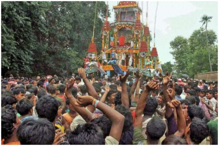 India Tv - Gupthipara Rath Yatra in Hoogly district