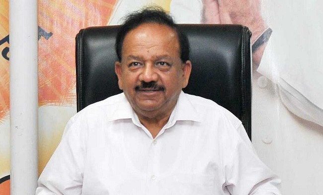 Union Minister Harsh Vardhan