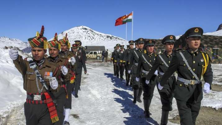 The 2017 China-India border stand-off or Doklam stand-off