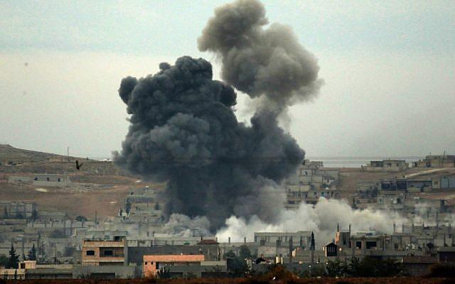 US-led airstrike kills 3 IS militants in Iraq