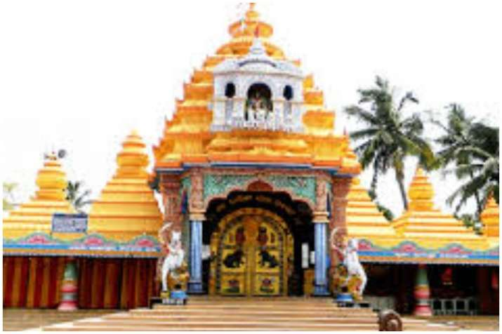 India Tv - Keonjhar Temple with red color idol of Goddess Subhadhra