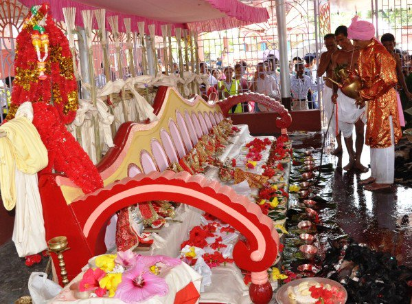Tripura Chief Minister Biplab Kumar Deb on Wednesday inaugurated the seven-day famous Kharchi Puja