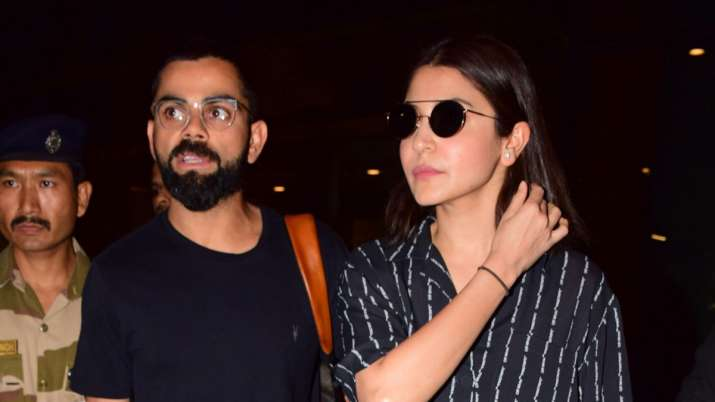 India Tv - Virat Kohli returns to India with wife Anushka Sharma after World Cup heartbreak