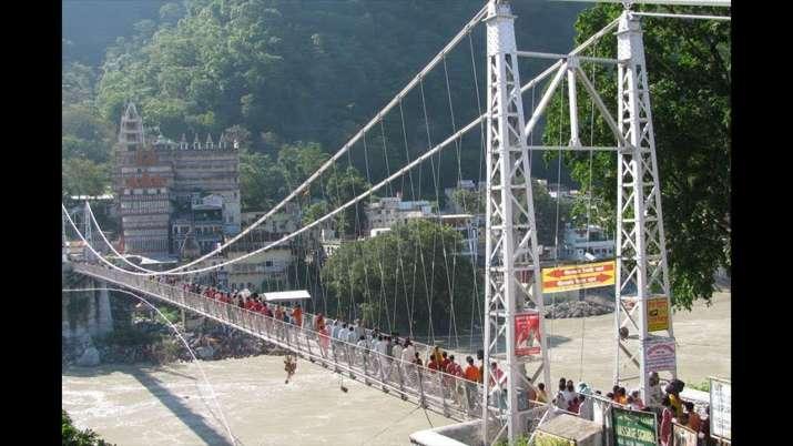 Rishikesh's Laxman Jhula bridge closed for public,