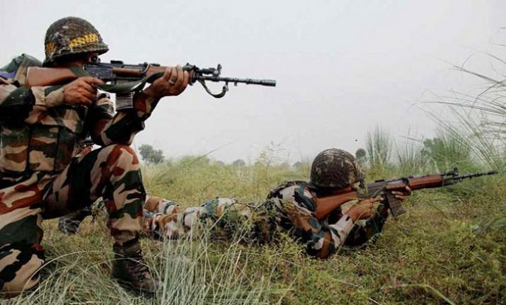Ceasefire violation by Pakistan in Jammu and Kashmir's