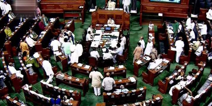 Congress walks out of Lok Sabha