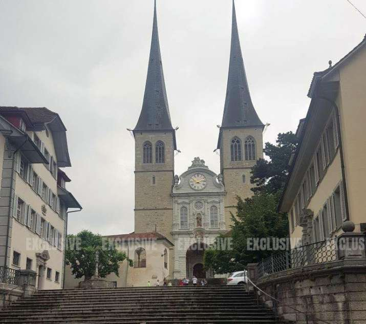 India Tv -  Lucerne Jesuit Church