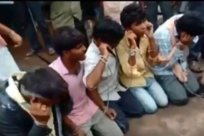 Video | 25 men tied, forced to chant 'Gau mata ki jai' for