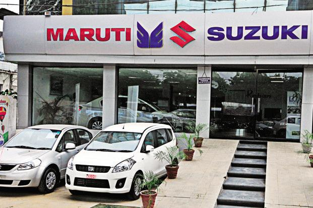 Maruti shares tank over 5 per cent; other auto scrips too