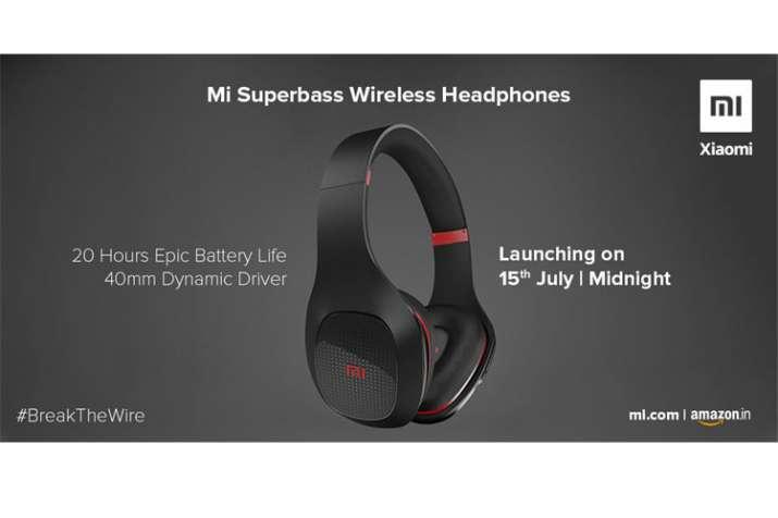 Xiaomi Mi Super Bass wireless headphone set to launch on July 15 and Mi Water TDS Tester crowdfundin