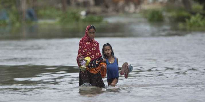 Death toll mounts to 55 as Assam, Bihar remain gripped with