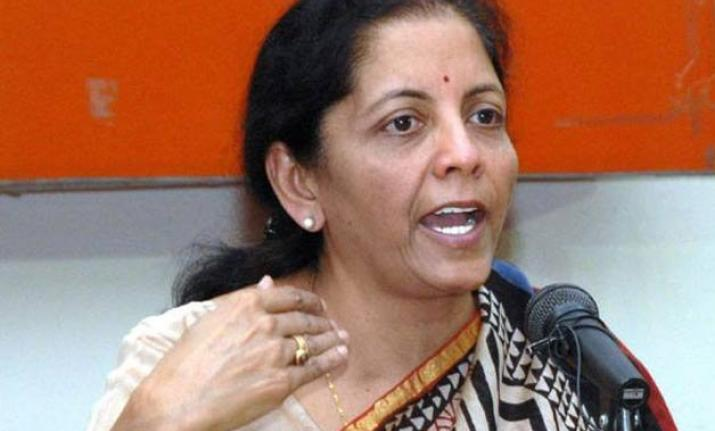 Union Finance Minister Niramala Sitharaman