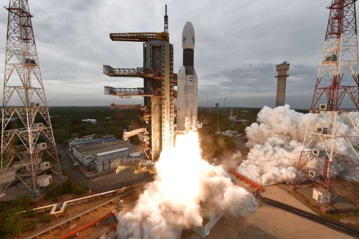 Chandrayaan-2 launched: Camera onboard GSLV MkIII-M1